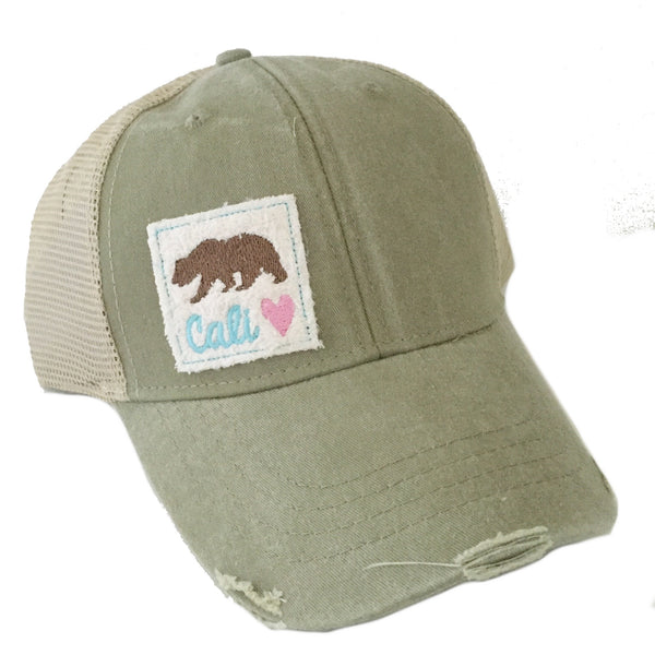 Cali Love Distressed Hat More Styles and Colors