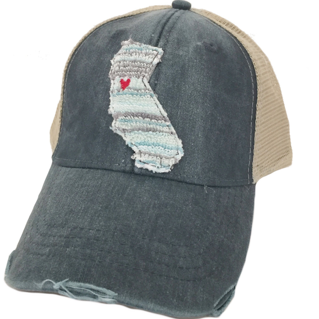 California Ocean Stripe Hat More Colors