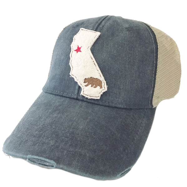 California Cream State Hat More Colors
