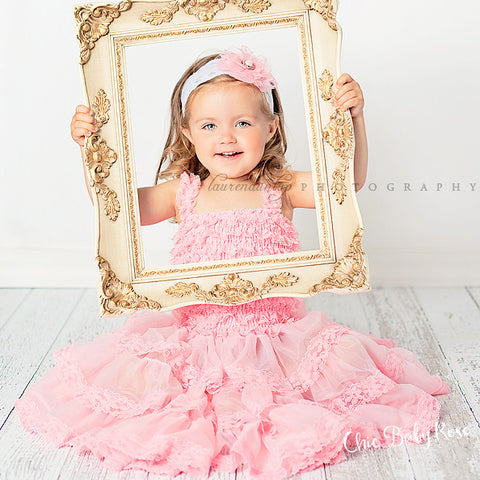 Lace Petti Dress - Toddler & Big Girl - Available in 7 Colors