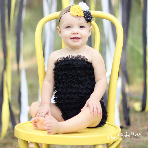 Toddler Lace Petti Romper