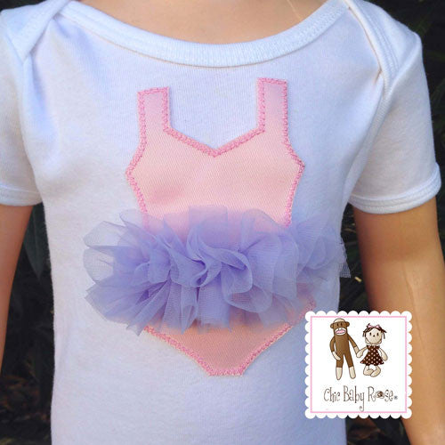 Organza Ballerina Tutu Top Available in 10 Colors