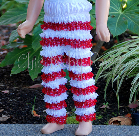 Lace Candy Cane Pettipants