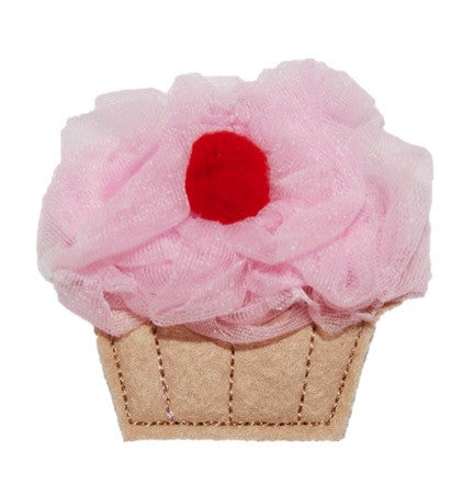 Cherry Cupcake Hair Clip 21 Colors