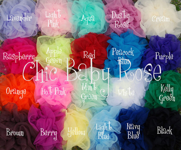 Fluffy Trim Petti Top Available in 21 Colors