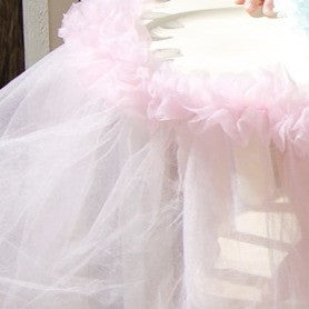 Fluffy High Chair Tutu
