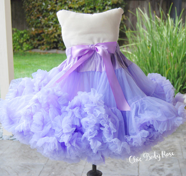 "13"" Length Pettiskirt Available in 5 Colors"