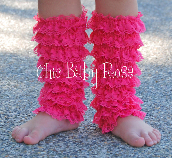 Lace Petti Leg Warmers Available in 28 Colors