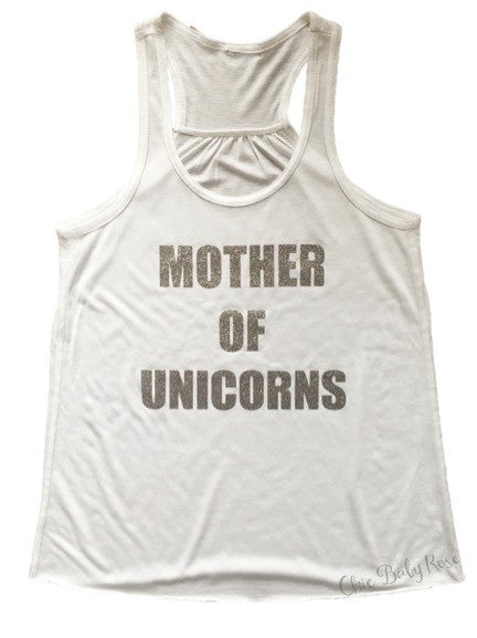 Mother of Unicorns Adult Tank
