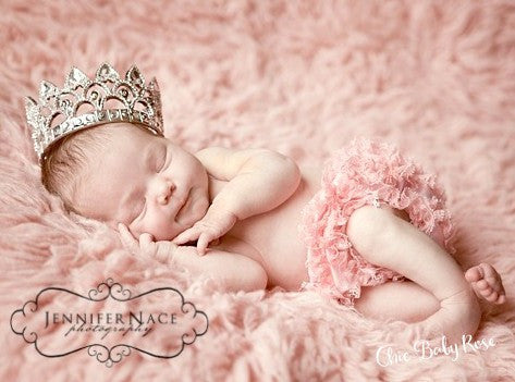 Frilly Newborn Lace Bloomer Available in 14 Colors