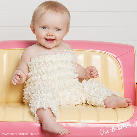 Toddler Lace Petti Jumper Available in 10 Colors