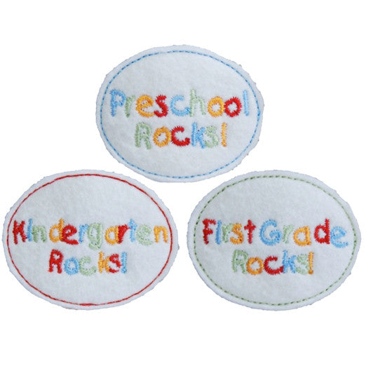 School Rocks Hair Clip
