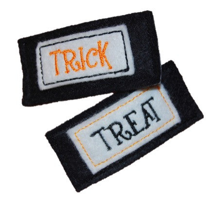 Trick or Treat Hair Clips