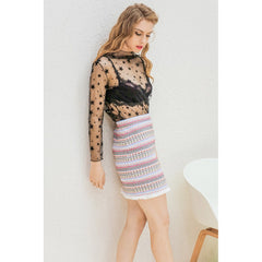 Boho Chic Mini Skirt