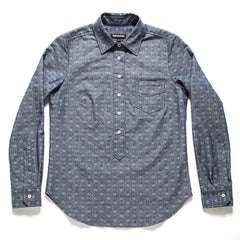 Japanese Denim Dot Popover