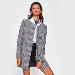 Birdy Plaid Coat