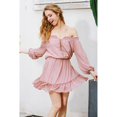 Charlotte Chiffon Dress