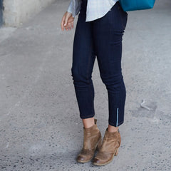 Cropped Ankle Jeans