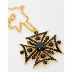 Majesty Necklace Gold Black
