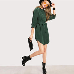 Andrea Shirt Dress