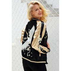 Birds of a Feather Embroidered Jacket