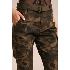 Tactical Belted Cargo Joggers