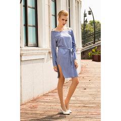 Mandy Dress in Sky Blue