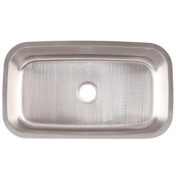Franke FSU118 18-Gauge Stainless Steal Single-Basin Undermount Sink