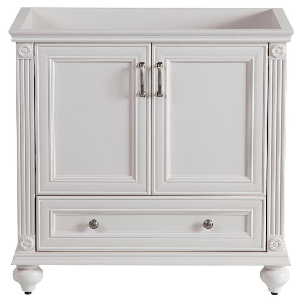 Home Decorators Collection Annakin 36 in. Vanity Cabinet Only in Cream