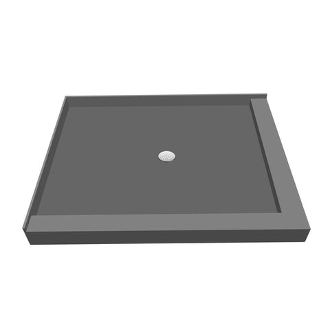 Tile Redi Base 36 in. x 48 in. Double Threshold Shower Base with Center Drain
