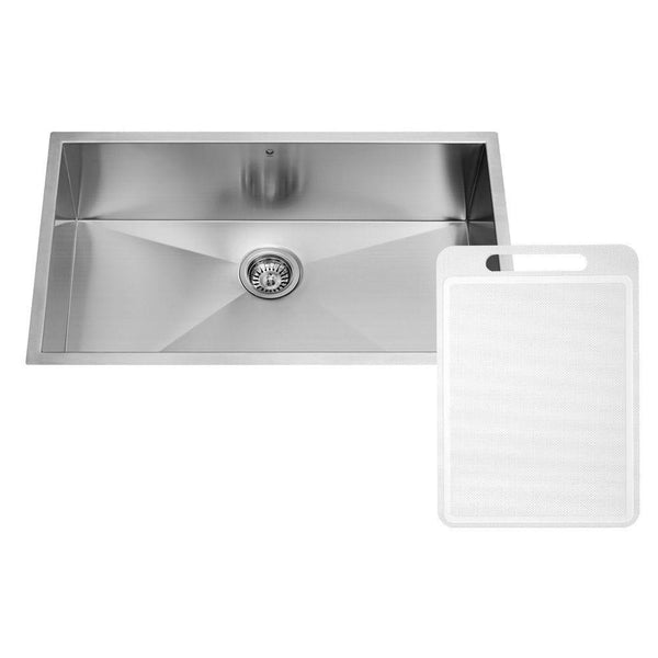 Vigo Undermount Stainless Steel 32 in. Single Bowl Kitchen Sink