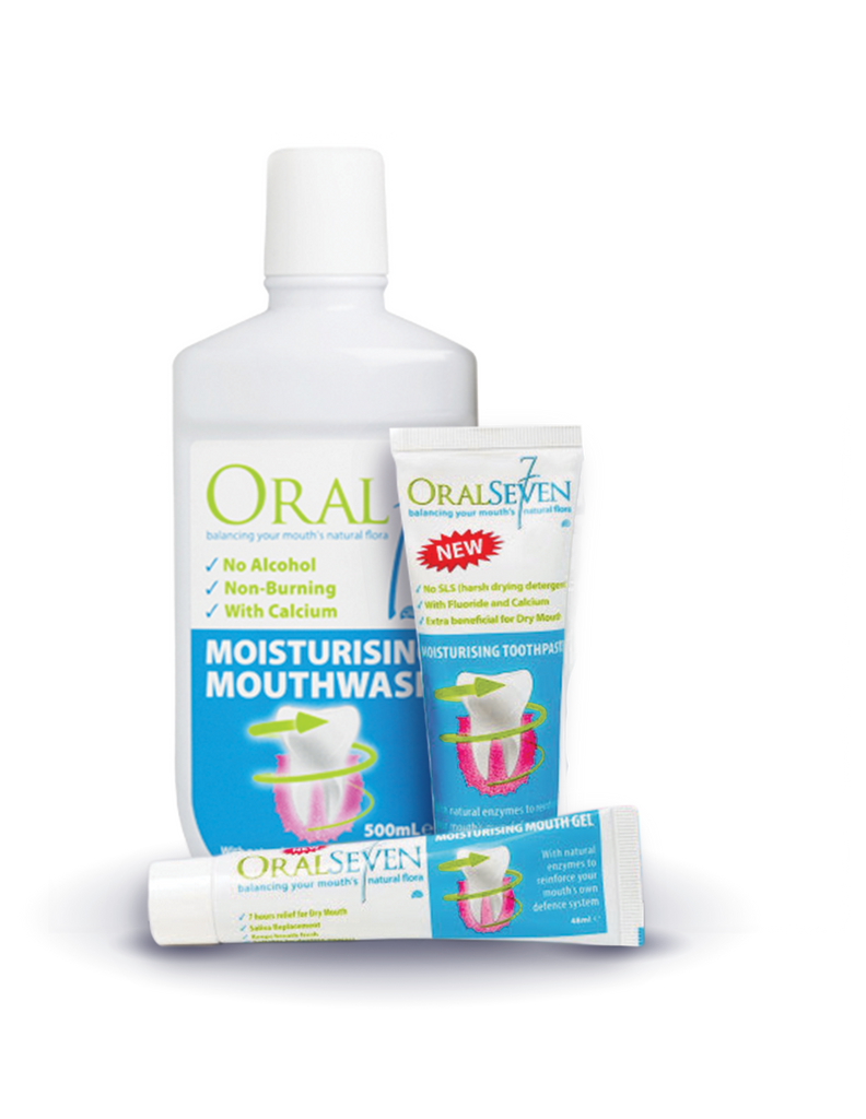 Oral7® Dry Mouth Challenge One Month Supply