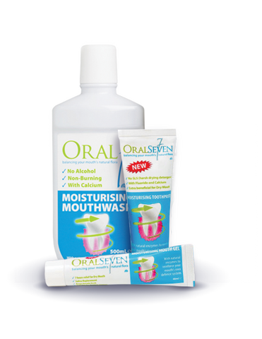 Oral7® Dry Mouth Challenge Three Month Supply