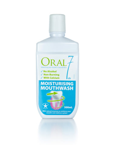 Oral7® Dry Mouth Moisturizing Mouthwash 17 fl. oz