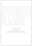 Bright & TIght Face Sheet Mask