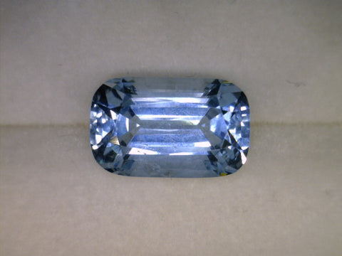 Aquamarine natural, Karoor India, octagonal cut, 2.28cts