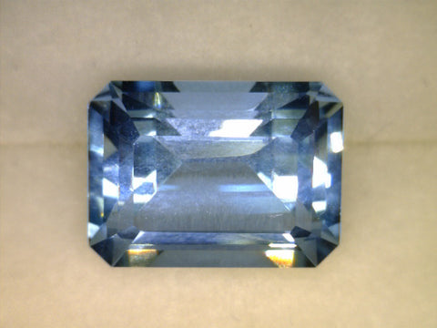 Blue Topaz, Brazil (untreated), Fancy Hexagon Brilliant, 8.14cts Dimensions: 14,7x11.4x8mm