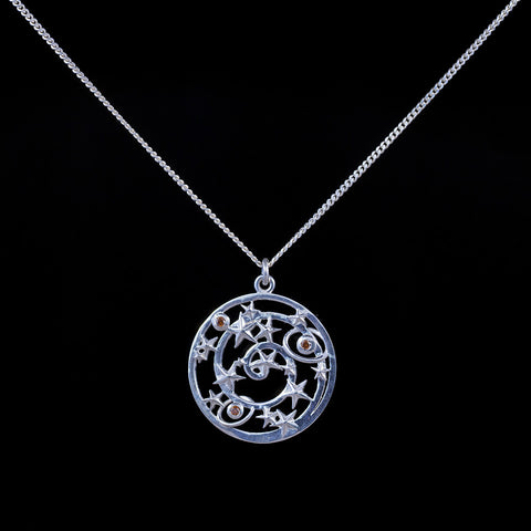 Silver Constellation Pendant