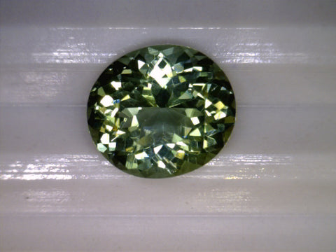 Green Tourmaline, Mozambique, Oval, 1.42cts