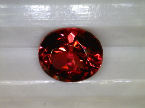 Red Spinel, Burma, Oval cut, 0.59cts