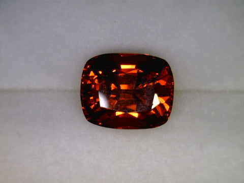 Spessartite Garnet, Namibia, Cushion cut, 1.29cts Dimensions: 6.24x5.14x4.16