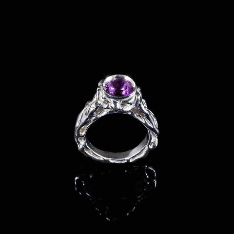 Patterns amethyst vine pattern ring