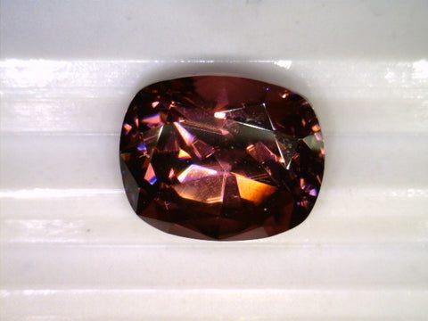 Zircone, Madagascar, cushion cut, 5.17cts