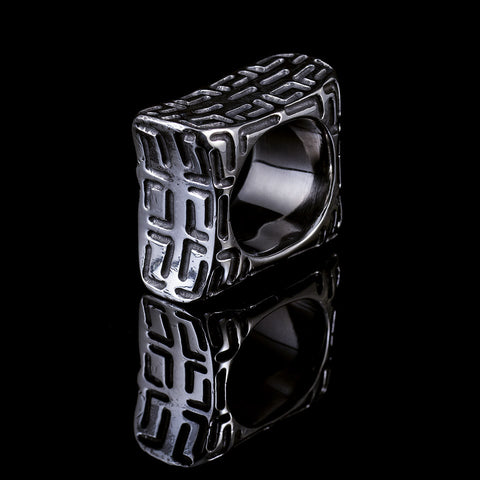 Distant Thunder ll  mens statement ring