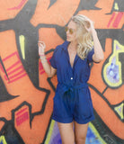 Valentina Playsuit - Ruby Sky