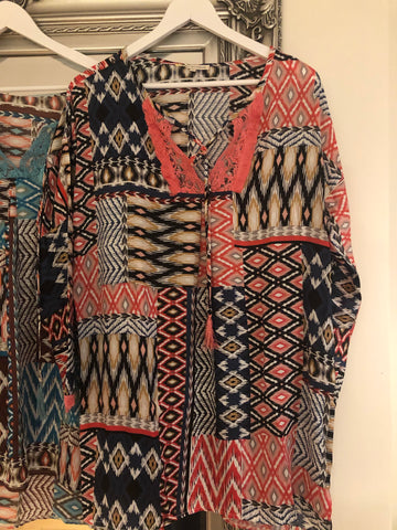 Aztec Kaftan - 3 colours