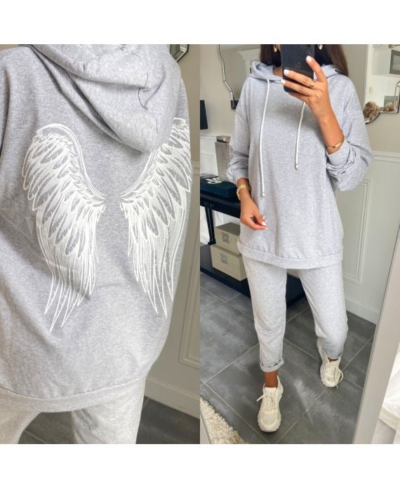 Angel Tracksuit Grey