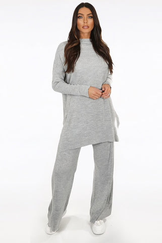Holly Knitted loungewear - Ruby Sky
