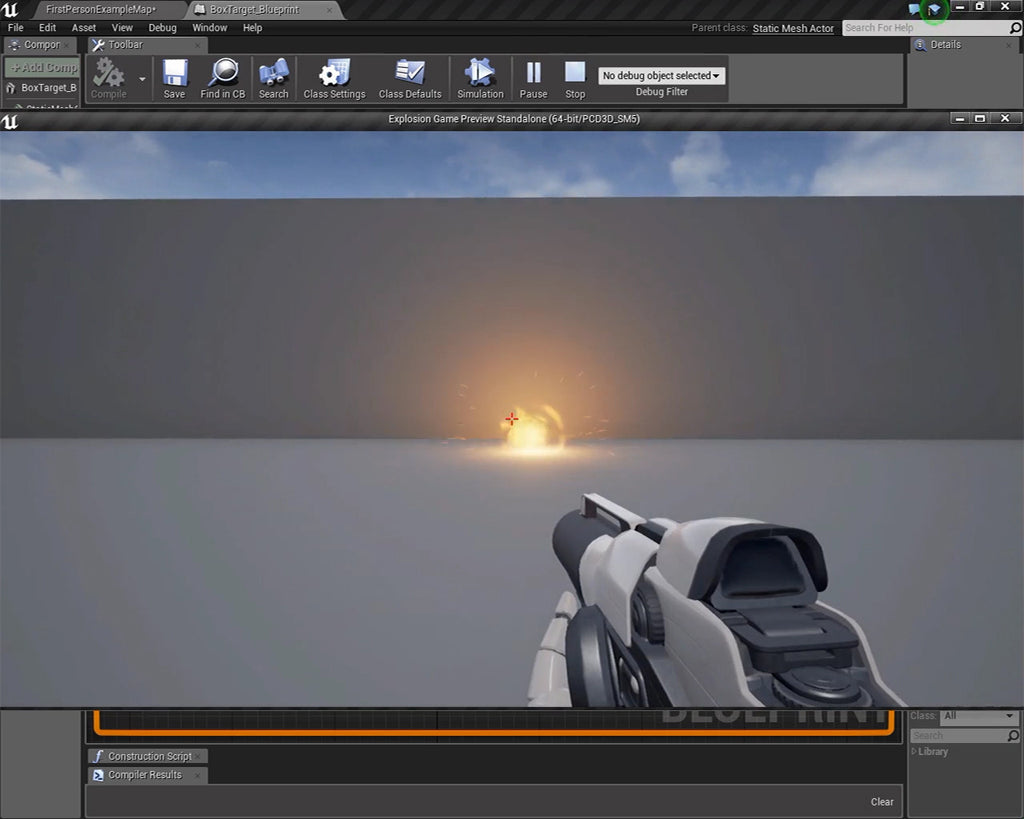 How to create an explosion in unreal engine 4 tutorial crandplay unreal engine how to create an explosion malvernweather Gallery