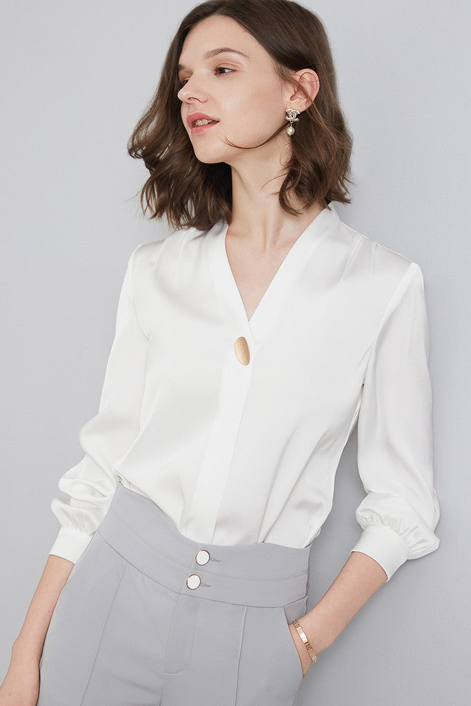 White Office Shirt - Shirts